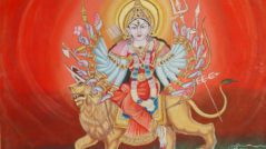 folk_painting_of_goddess_durga_from_varanasi_for_wi03